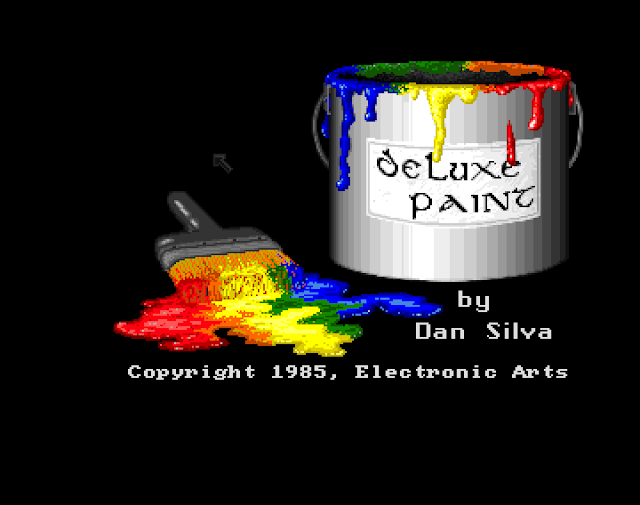 deluxe paint title page