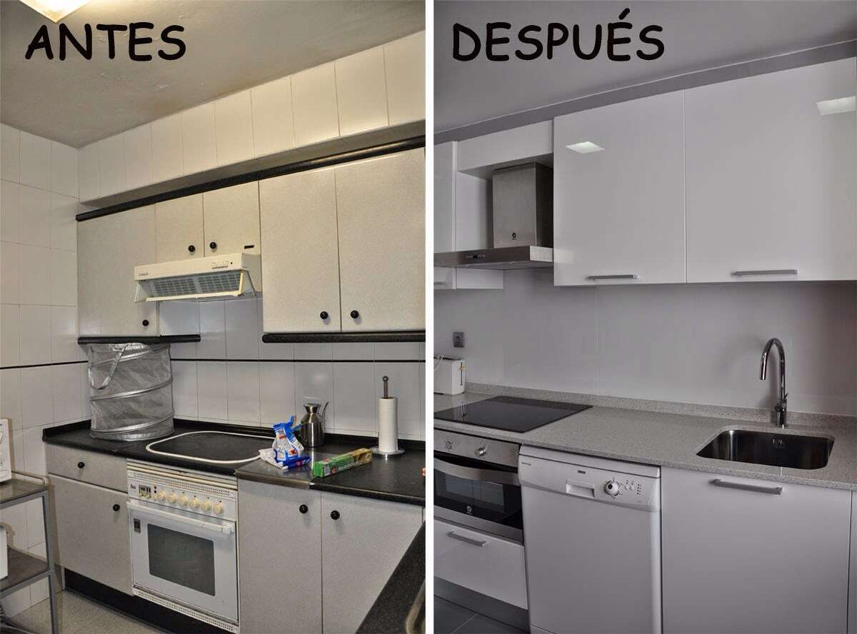 Bonito cocina reformada sin obras galer a de im genes - Reformas de cocinas sin obras ...