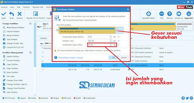 Cara Partisi Disk C Windows 10 Tanpa Hapus File Install Ulang Penambahan Memori