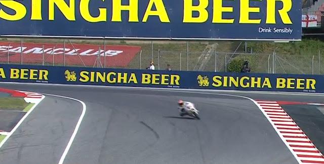MotoGP Catalunya Menggunakan Tikungan F1