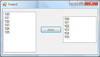 c# move copy item from list box to another list box