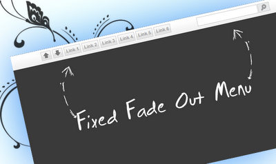 Cara Membuat Floating (Fixed) Menu di Blog