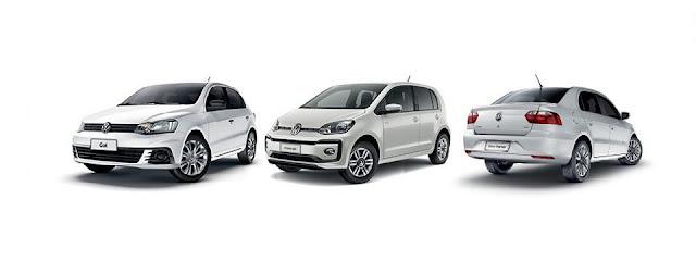 Volkswagen convoca recall de Tiguan, Up!, Gol e Voyage