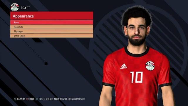 Mohamed Salah Face PES 2017