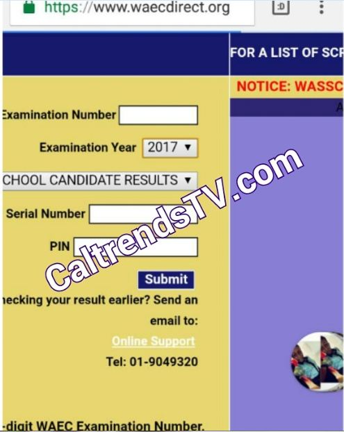 2017 WAEC Result Fully Uploaded Now