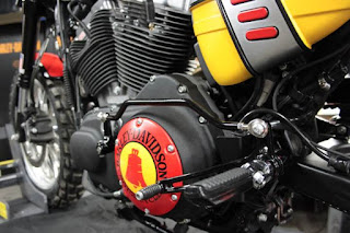 mud racer sportster 1200 roadster tracker by hd strasburgo