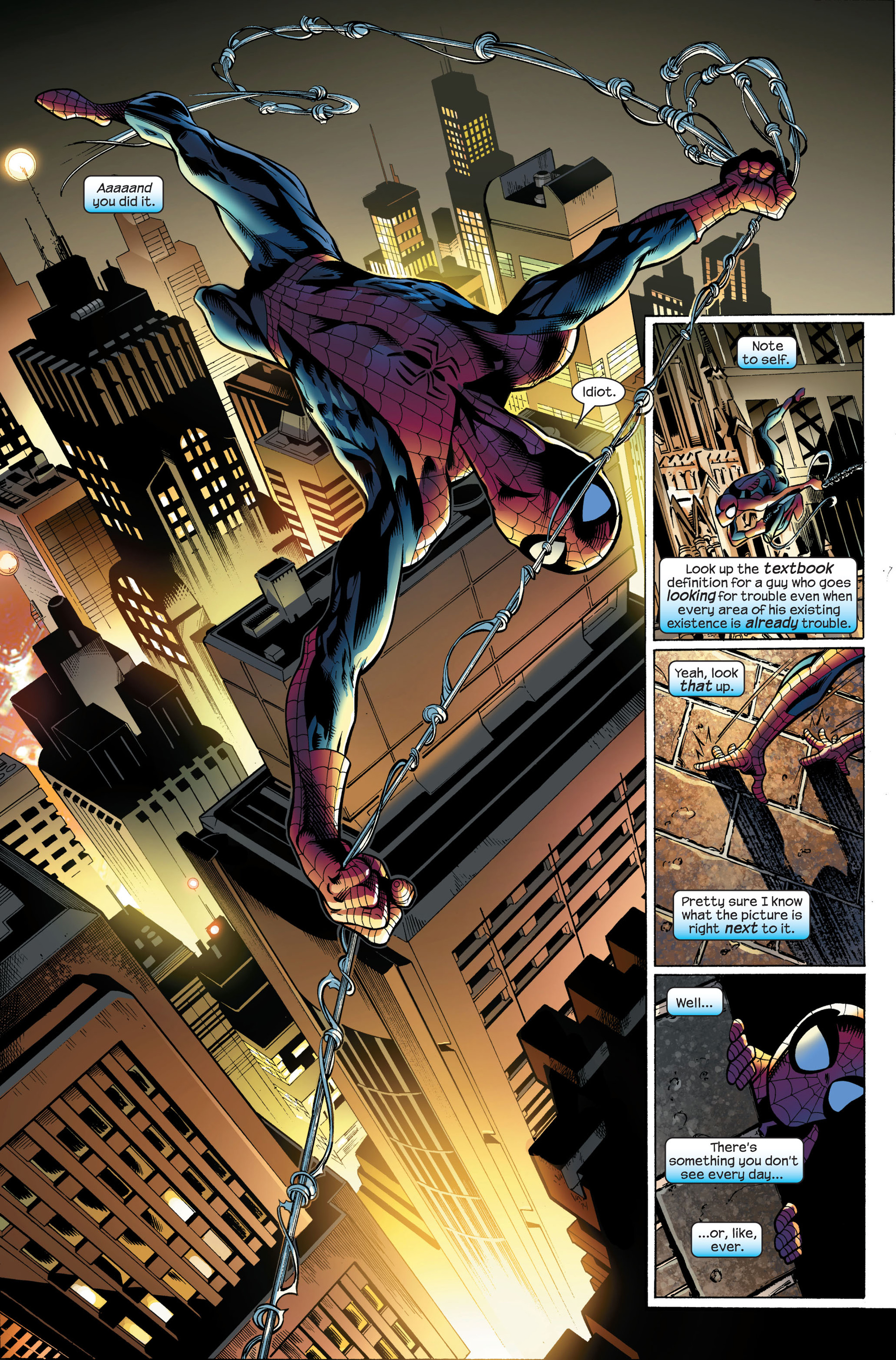 Read online Ultimate Spider-Man (2000) comic -  Issue #107 - 12
