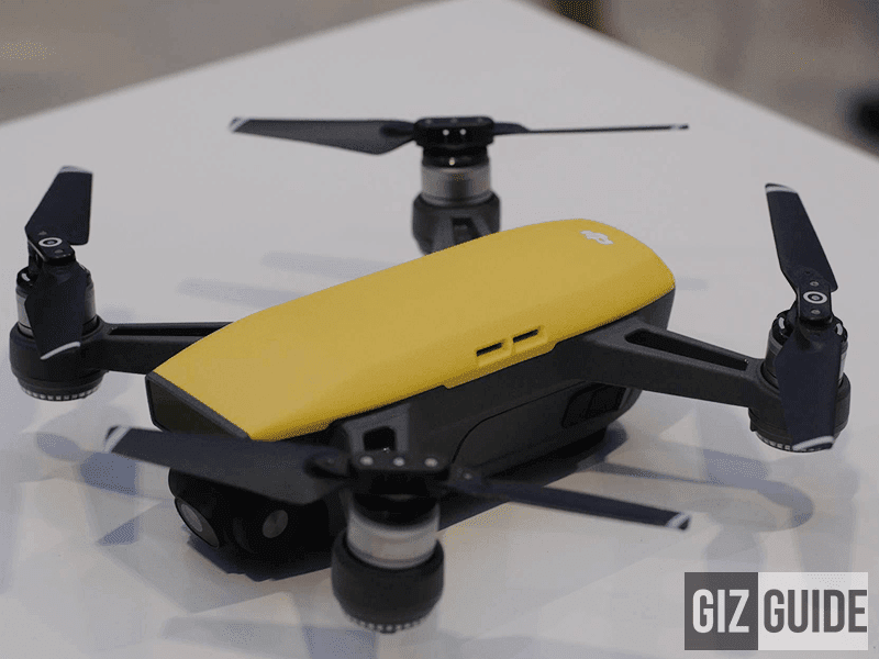 Tiny drone in style