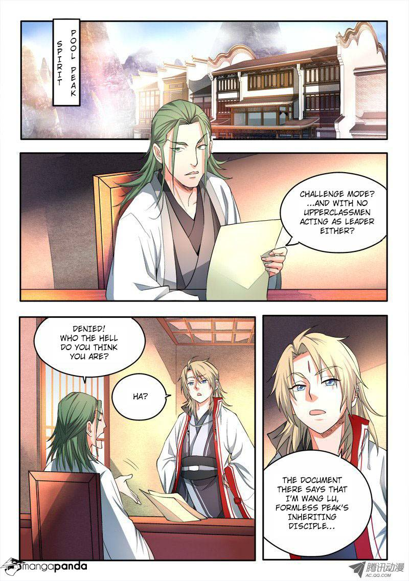Spirit Blade Mountain - Chapter 56