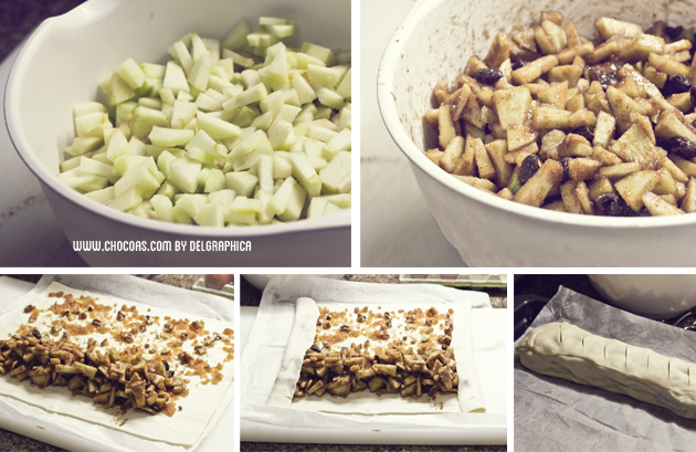 strudel manzana tarta alemana