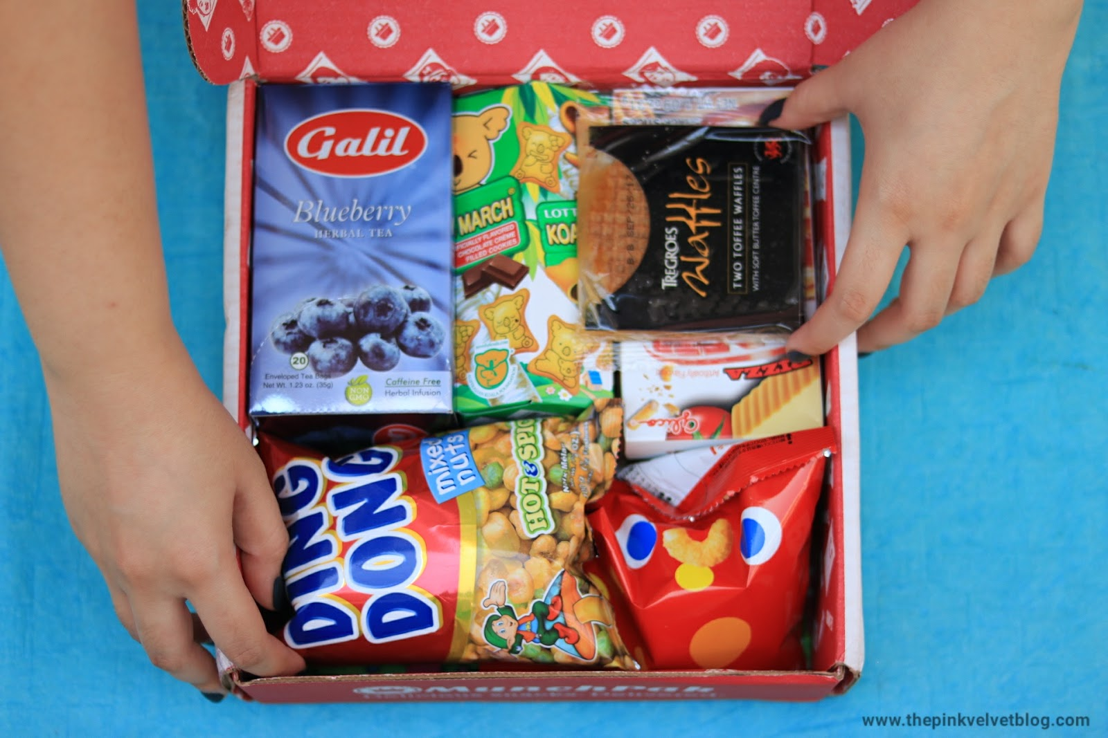 MunchPak - International Snack Box
