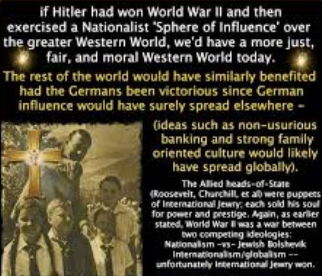 What They Never Told You In History Class: IF HITLER WON