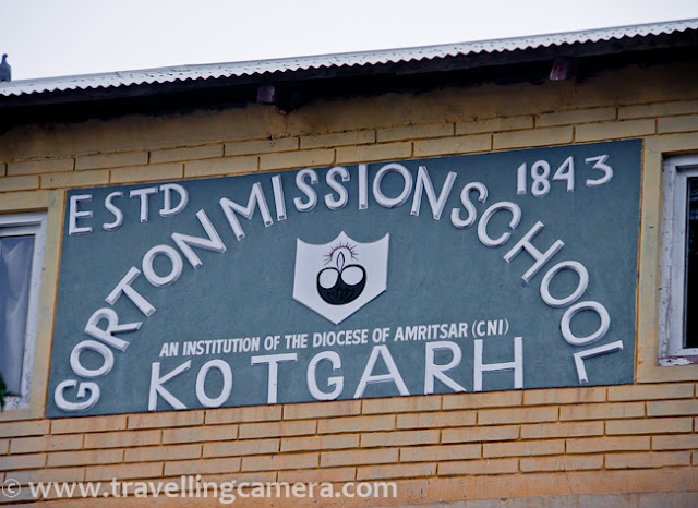 During one of the trips to Himachal, we crossed Kotgarh when moving from Tani Jubber to Kullu Sarahan/Nirmand. Kotgarh is a small region which is located approximately 12 km from Narkanda. This region is surrounded by Himalayas and town is mainly famous for apples. Apart from Apple region of Himachal pradesh, Kotgarh was one of the earliest mission stations of North India..This campus has a missionary school and Church with Gothic architecture... Kotgarh was a part of the province of Punjab. It was Church Missionary Society (CMS) from England that opened its centre at Kotgarh in 1844. It became a mission station along with Simla, Kangra and Dharamsala. Kotgarh was ideally situated in terms of Christianisation.School kids waiting for first bell  of the day..Kotgarh was a station of the British army during the 1814-1816 Gorkha war. A 2 storey building was there to serve as British officers' mess. In the coming years, the British army withdrew from Kotgarh.This Church stands in the middle of the town and this drew our attention about the place. Kotgarh Church was built in 1872 and it's located near the Army mess. The church is not a very tall building and having a tower bell. The front window has a painting of Christ. The exterior is a combination of austerity and simplicity. It was used for daily morning and evening services.This church is now filled with mature shrubs and apple trees in its backyard, which enhances overall settings of this place. On other side of the Church a school was opened and was named after Gorton, who was a distinguished servant in Simla. Later this school came under the mission control. The school grew gradually and in 1886 it could boast of a substantial figure of students studying here — 13 boys and two girls. Some medical work was carried at Kotgarh too. A hospital that comprised only four beds was highly beneficial to the natives and the mission societies.Kotgarh with its picturesque location soon became a summer retreat for the missionaries in the plains. Books written during the early 19th century have travelling experiences of missionaries.  A photograph of one of the playgrounds of Gorton Mission School, Kotgarh, Shimla, Himachal Pradesh !!!Currently Kotgarh does not reflect strong Christian characteristics. However the legacy of the missionaries is depicted in the domain of the church and the school.