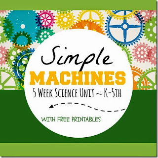 simple machines unit for kids