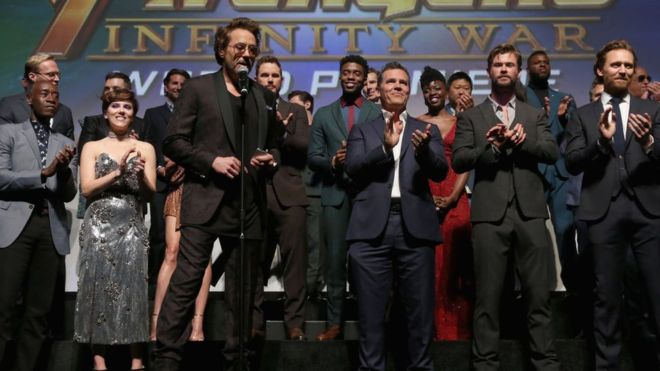 Avengers: Infinity War estimated to break global opening weekend record