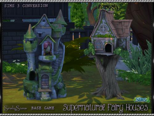 Fairy Houses - SrslySims