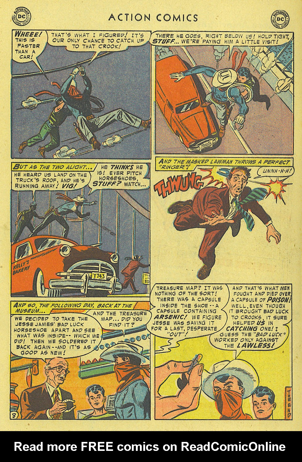 Read online Action Comics (1938) comic -  Issue #194 - 33