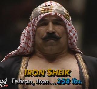 WWF (WWE) WRESTLEMANIA 1: The Iron Sheik provided the comedy