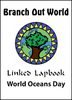 world oceans day lapbook