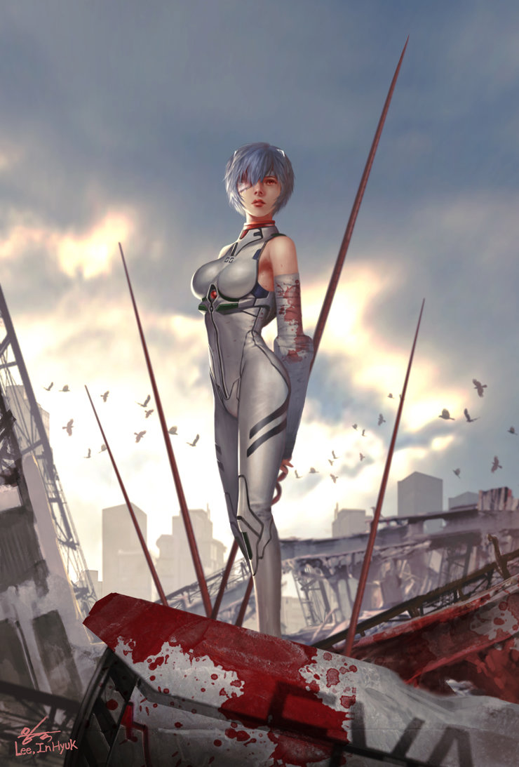A incrível arte digital de InHyuk Lee