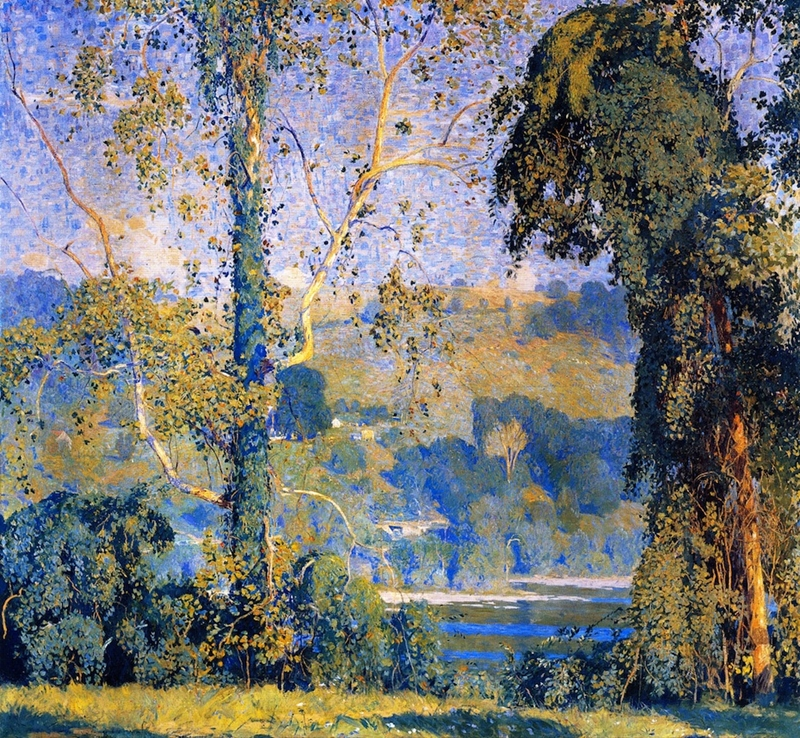 Daniel Garber Oil Painting