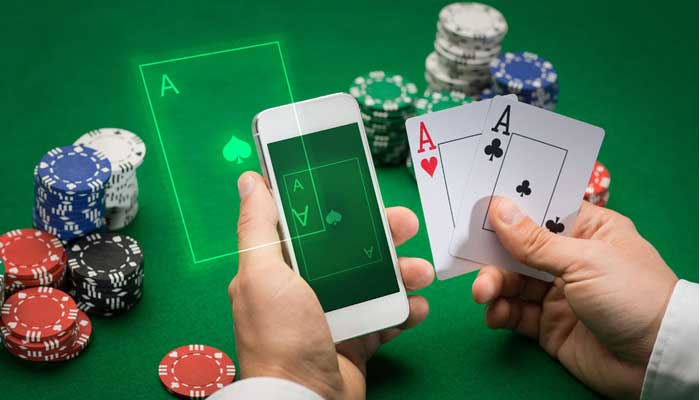 Online gambling or Internet gambling