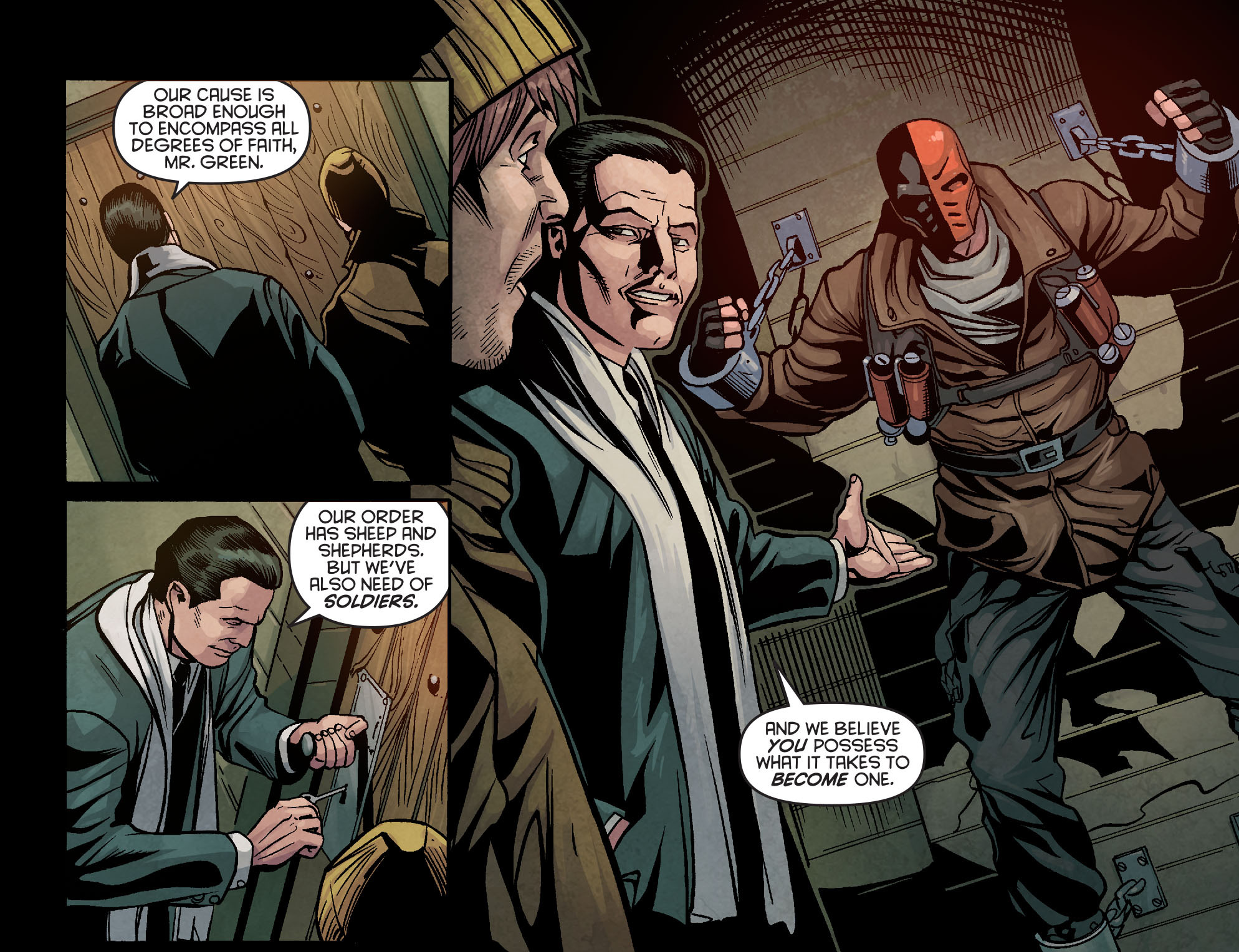 Read online Arrow: Season 2.5 [I] comic -  Issue #5 - 11