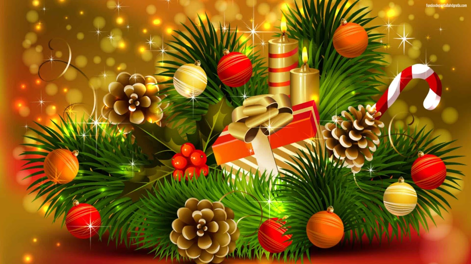 Fondos De Pantalla De Navidad: Patada De Caballo: Fondos De