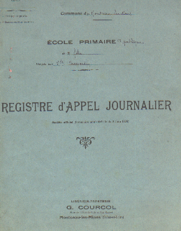 Registre d'Appel Journalier