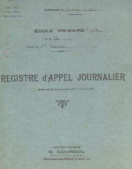 Registre d'Appel Journalier