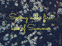wallpaper spring flowers quote