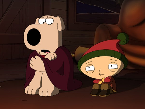 Family Guy - Season 9 Episode 07&08: Road to the North Pole + New Kidney in Town