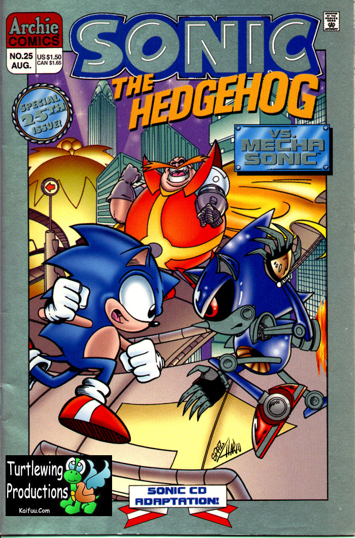 Read online Sonic The Hedgehog comic -  Issue #25 - 1