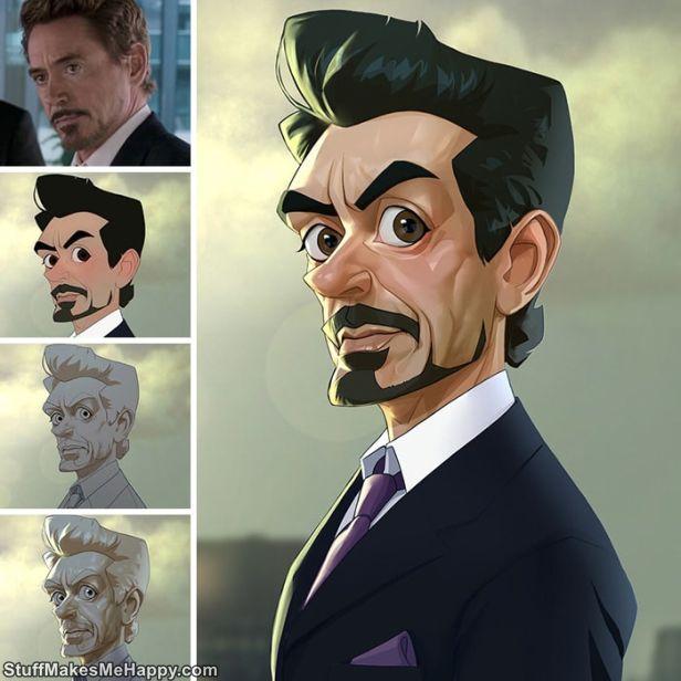 7. Tony Stark, The Iron Man