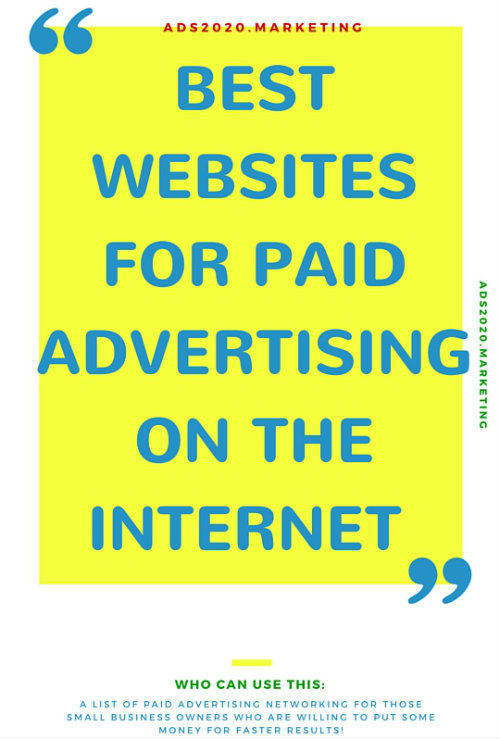 list-websites-paid-advertising-Internet
