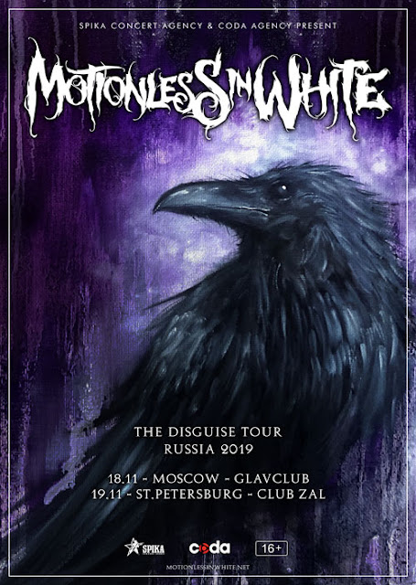 Motionless in White в России