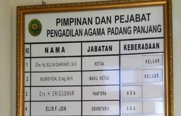Ditangkap di hotel 'bersama pasangan tak resmi', ketua Pengadilan Agama jadi perbincangan