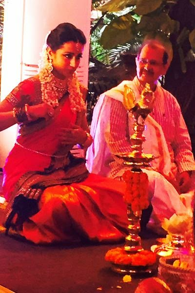Actress Trisha Krishnan and Varun Manian Engagement Photos