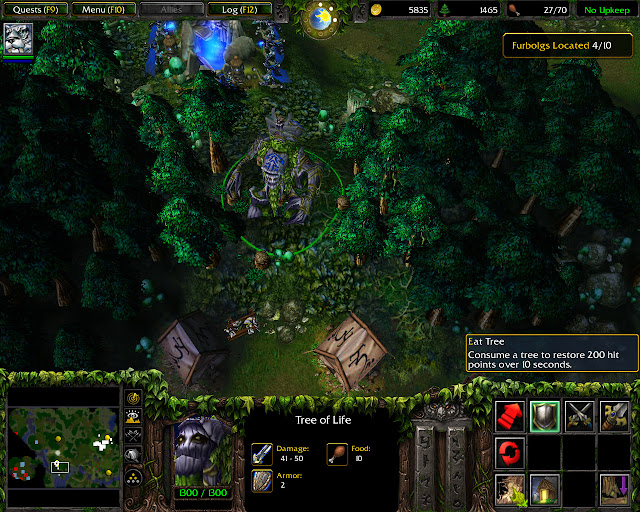 Tree of Life Screenshot | Warcraft 3: Reign of Chaos