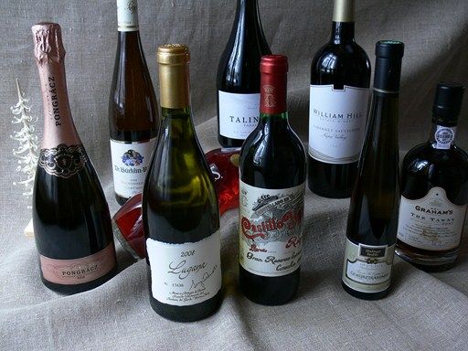 hyvä viini katkaravuille