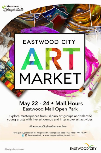 Eastwood City Art Market