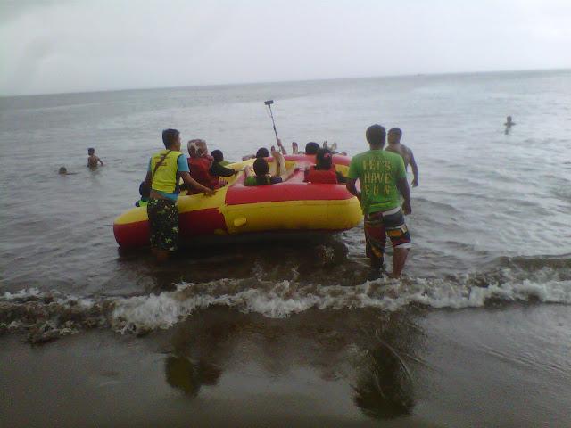 Harga Watersport Di Pantai Batu Karas