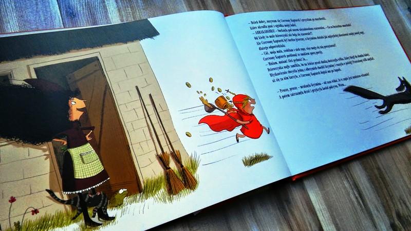 """Książka dla dzieci """"Komu zupki?"""" Simone Quitterie"""
