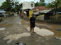 Kondisi Jalan Monggo-Candi Rusak Parah, Warga Resah