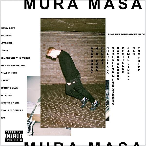 Mura Masa - All Around the World (feat. Desiigner) - Single Cover
