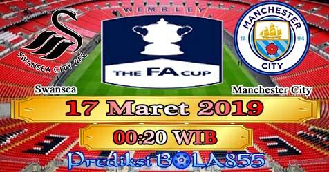 Prediksi Bola855 Swansea vs Manchester City 17 Maret 2019