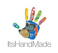 ItsHandMade-Logo Partecipazione Mod. Notte StellataColore Marrone Tema Stelle e Costellazioni