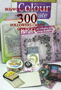 IKEsWORLD CHALLENGES 300 FOLLOWERS CANDY GIVEAWAY