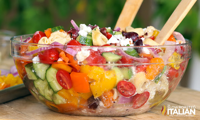 http://www.theslowroasteditalian.com/2014/04/greek-tortellini-salad-recipe.html