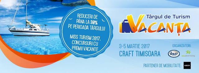 Târg de Turism la Timișoara (03-05 martie 2017)